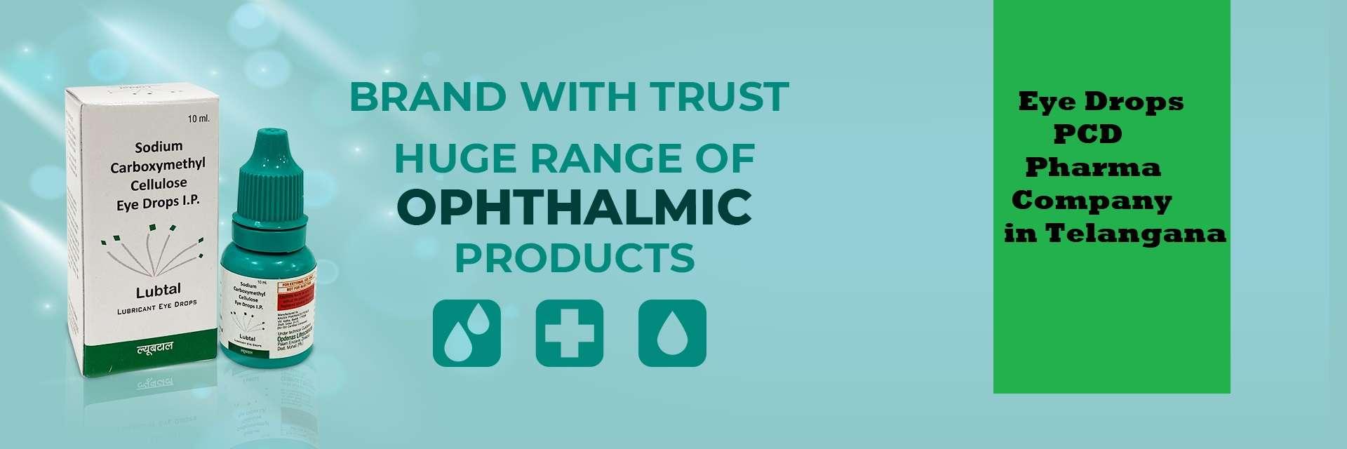 Eye Drops PCD Pharma Company in Telangana