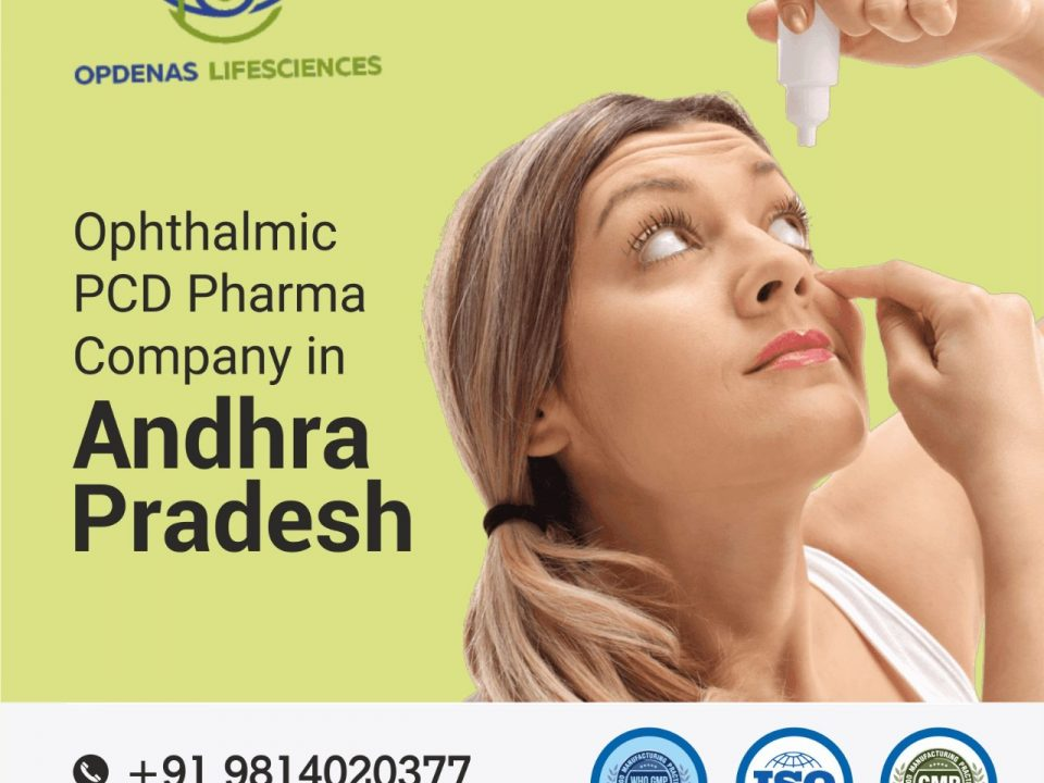 Ophthalmic PCD Pharma Company in Andhra Pradesh