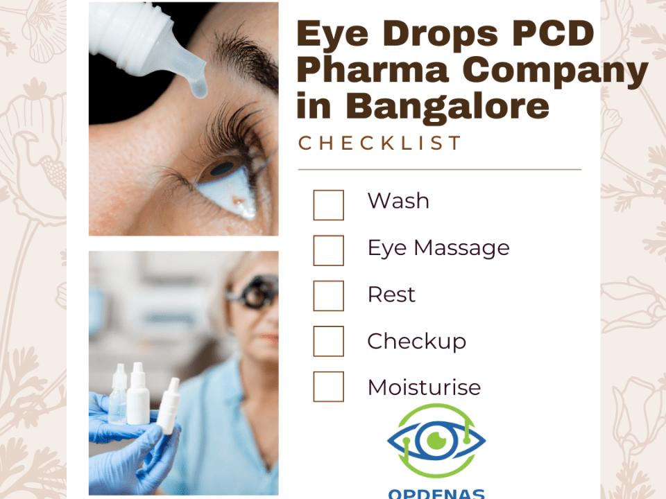 Eye Drops PCD Pharma Company in Bangalore