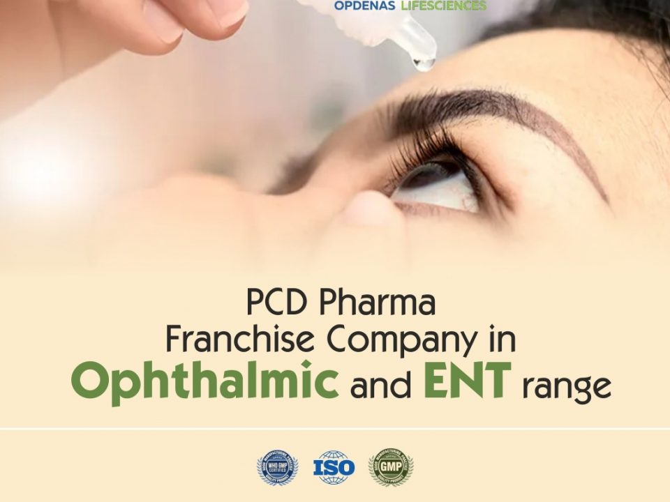 Ophthalmic PCD Franchise in India