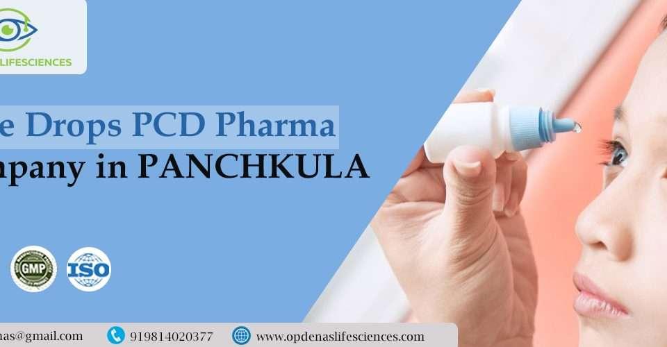 Eye Drops PCD Pharma Company in Panchkula