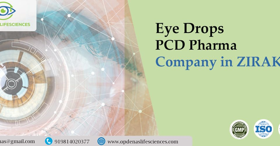 Eye Drops PCD Pharma Company in Zirakpur
