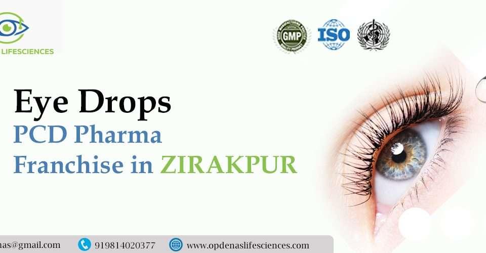 Eye Drops PCD Pharma Franchise in Zirakpur