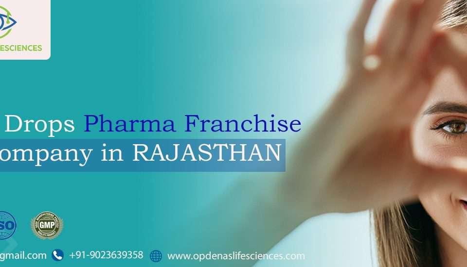 Eye Drops Pharma Franchise Company in Rajasthan