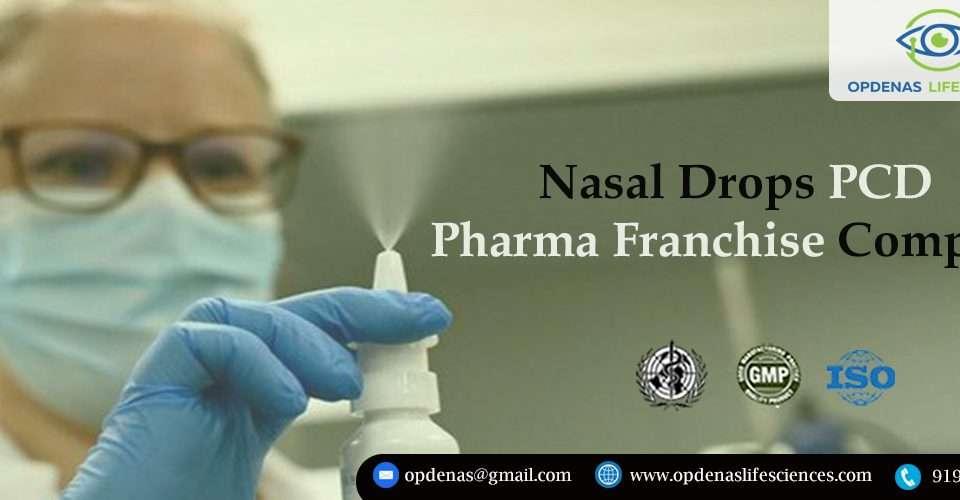 Nasal Drops PCD Pharma Franchise Company