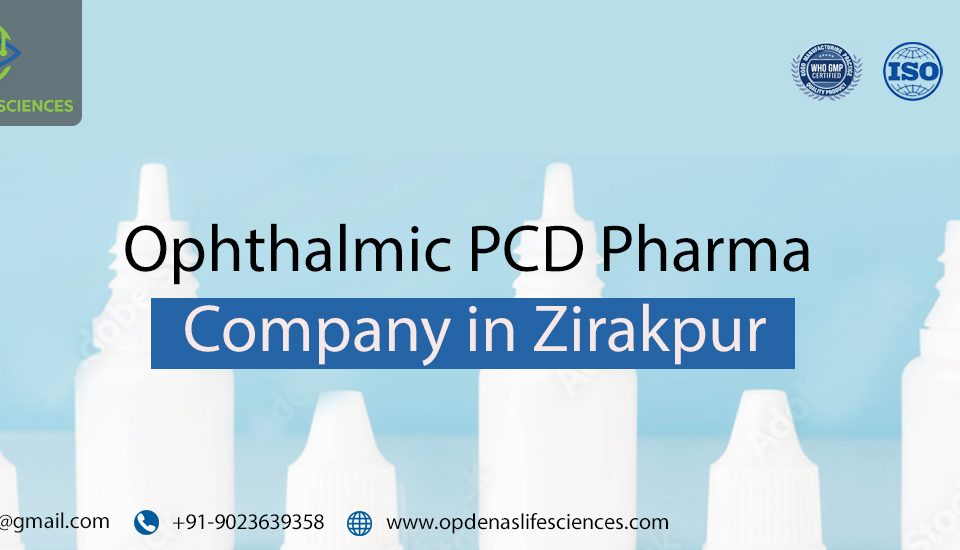 Ophthalmic PCD Pharma Company in Zirakpur