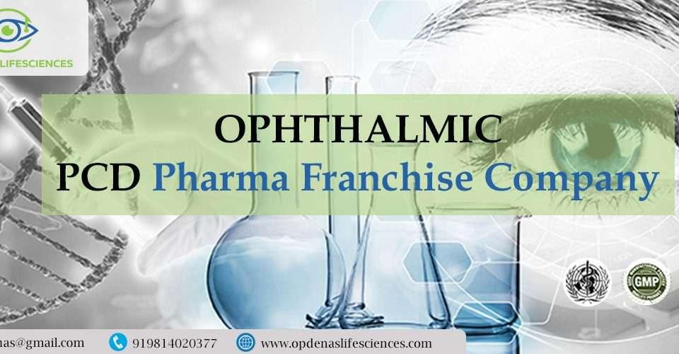 Ophthalmic PCD Pharma Franchise Company
