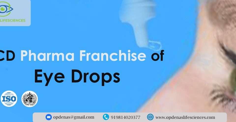 PCD Pharma Franchise of Eye Drops