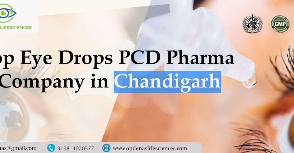 Top Eye Drops PCD Pharma Company in Chandigarh